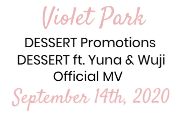 VioletPark _ DESSERT ft. Yuna & Wuji _ Outfit Header