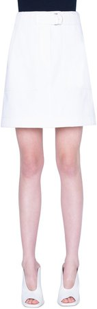 Stretch Cotton Cargo Skirt