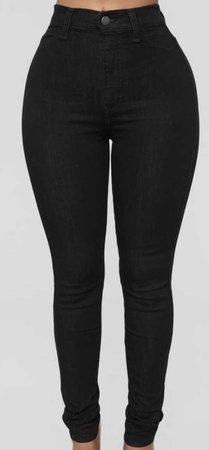 Fashion Nova Jeans, Black