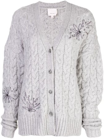 ShopCinq A Sept Victorian cardigan with Express Delivery - Farfetch