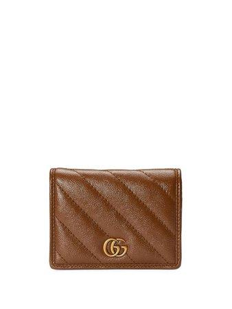 Gucci GG Marmont card case wallet - FARFETCH