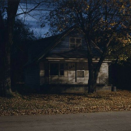 creepy house aesthetic