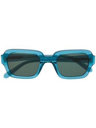 Blue Han Kjøbenhavn Square Frame Sunglasses | Farfetch.com