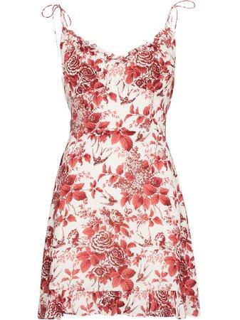 Reformation Esther floral-print Mini Dress - Farfetch