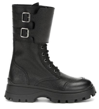 Miu Miu Leather Boot
