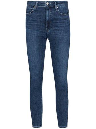 PAIGE Margot Cropped Skinny Jeans - Farfetch