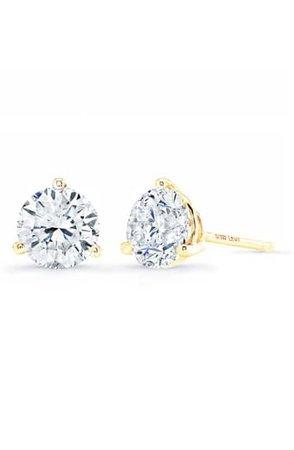 Dana Rebecca Designs Ava Bea Triple Diamond Stud Earrings | Nordstrom