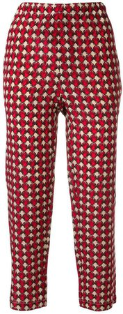 shell print trousers