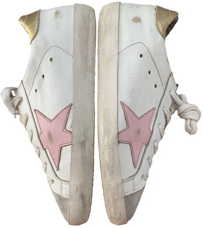 Superstar White Leather Trainers