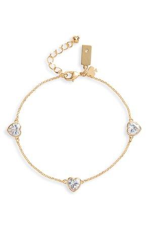 kate spade new york romantic rocks linear bracelet | Nordstrom