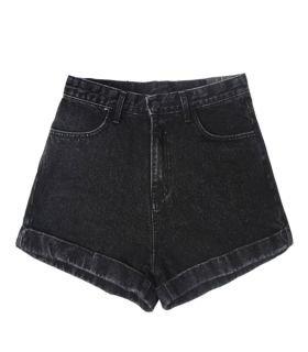 Denim shorts - Cloe