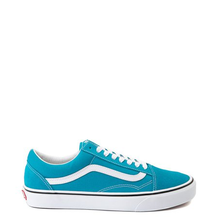 Vans Old Skool Skate Shoe - Caribbean Sea | Journeys