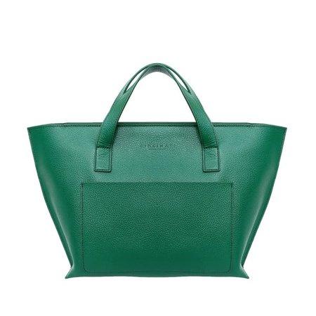The Saigonnaise Hand Bag Green | Neyuh Leather | Wolf & Badger