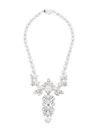 Miu Miu, Queen crystal embellished necklace