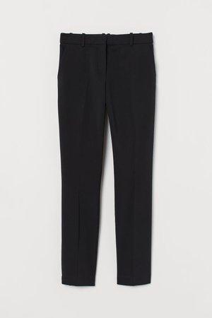 Pantaloni a sigaretta - Nero - DONNA   H&M IT