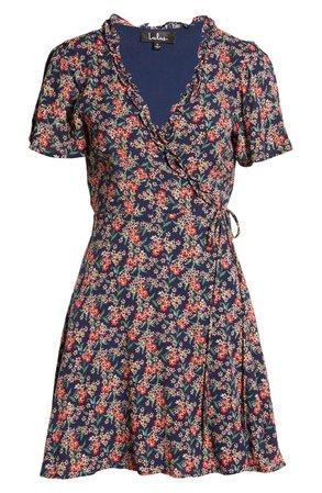 Lulus Audacious Audrey Floral Wrap Dress | Nordstrom