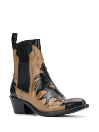 Sartore Washed Cowboy Boots - Farfetch