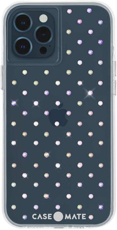 Amazon.com: Case-Mate - Iridescent GEMS - Case for iPhone 12 Pro Max (5G) - 10 ft Drop Protection - 6.7 Inch - Iridescent Gems