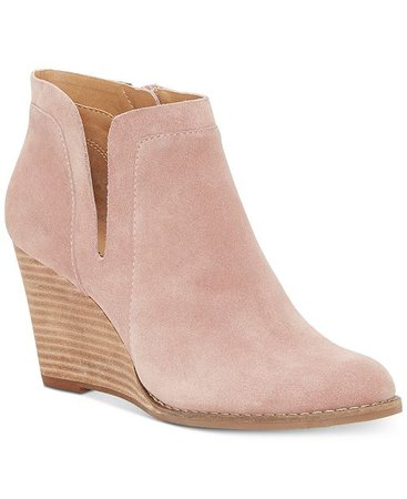 Lucky Brand Women's Yabba Wedge Booties & Reviews - Boots - Shoes - Macy's