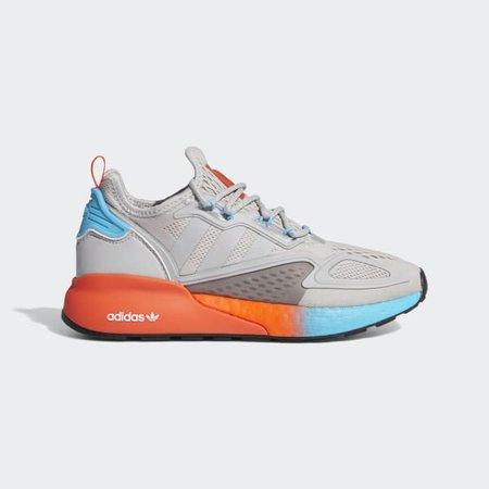 adidas ZX 2K Boost Shoes - Grey | adidas US