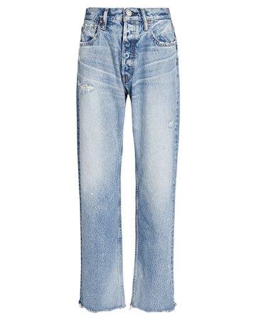 MOUSSY VINTAGE Lomita Straight-Leg Jeans   INTERMIX®