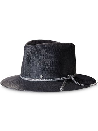 Shop Maison Michel Andre sun hat with Express Delivery - FARFETCH