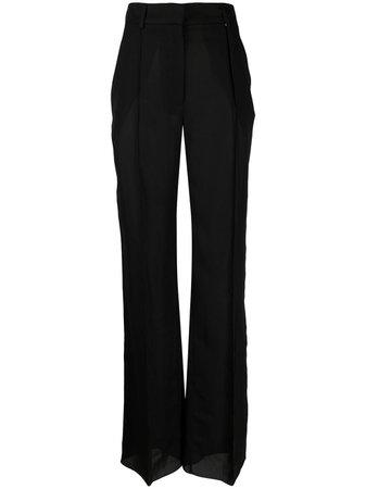 Nensi Dojaka flared tailored trousers - FARFETCH