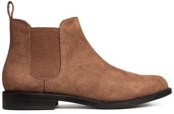 Chelsea-style Boots - Brown