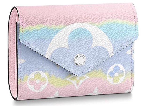 Louis Vuitton Victorine Wallet LV Escale Pastel