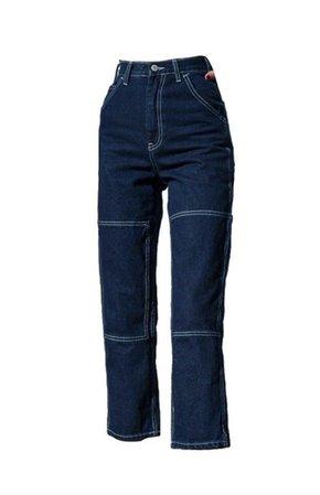 dark blue brandy jeans