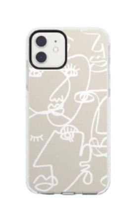 beige phone case