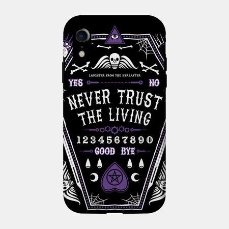 The Hereafter - Ouija Goth - Beetlejuice - Phone Case   TeePublic