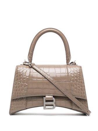 Balenciaga Hourglass S top-handle Tote Bag - Farfetch