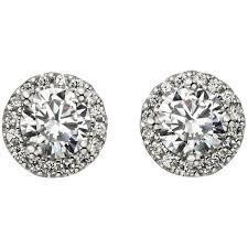 silver earrings polyvore – Google-haku