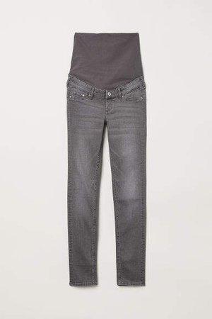 MAMA Skinny Jeans - Gray