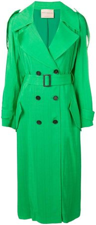 Erika belted trench coat