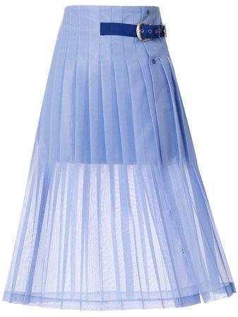 Toga Pleated Belt Skirt - Farfetch