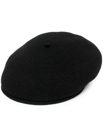 marine serre black beret