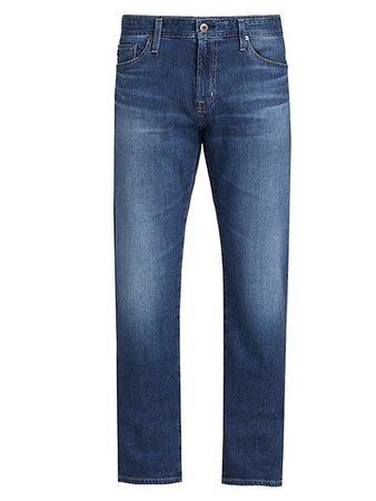 AG Jeans Graduate Slim Straight-Fit Jeans | SaksFifthAvenue