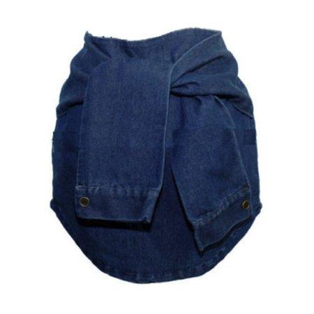 Denim Fake Sleeve Skirt ($45)