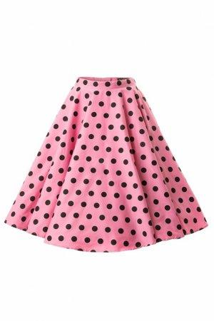 50's skirt pink