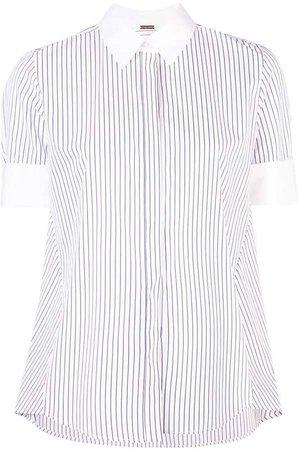 shortsleeved striped shirt