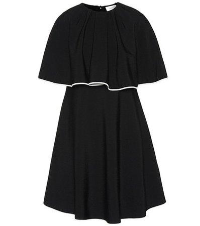 Jersey knit minidress