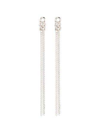 Saskia Diez Drop Chain Earrings - Farfetch