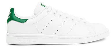 Stan Smith Leather Sneakers - White