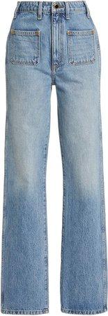 Khaite Isabella High-Rise Jeans