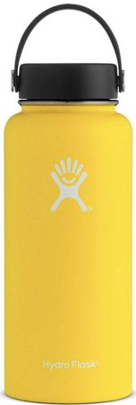 yellow hydro flask