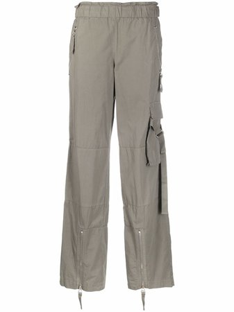 Helmut Lang mid-rise straight-leg trousers - FARFETCH