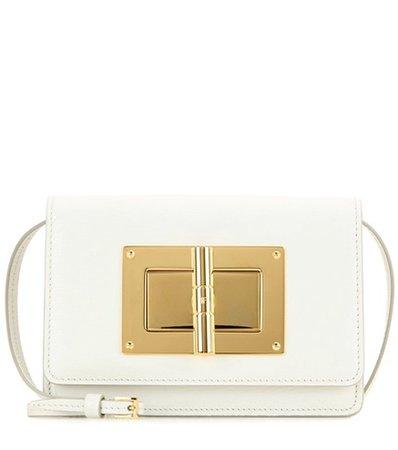 Natalia Small leather shoulder bag