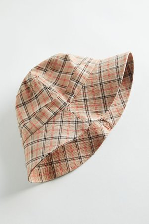 Charley Plaid Bucket Hat   Urban Outfitters